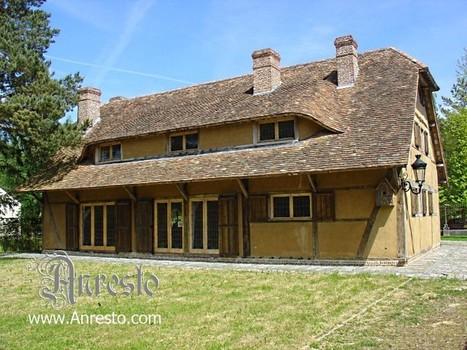 foto achterzijde antiek huis vakwerkstijl te koop. ANRESTO, historische restauratie, renovatie. | Antiek Antique | Scoop.it