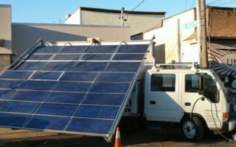 This Truck Is Bringing Solar Energy to Sandy-Stricken New York [VIDEO] | Way Cool Tools | Scoop.it
