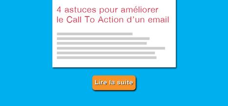 4 astuces pour améliorer le Call To Action d'un email   Institut de l'Inbound Marketing   Scoop.it