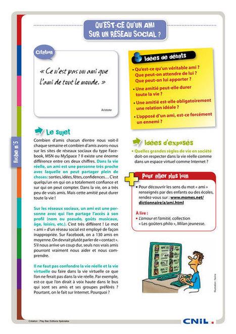 13 fiches pédagogiques pour internet | Le Club des Elus Numériques | Vie digitale - comprendre les enjeux | Scoop.it