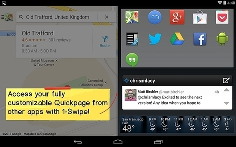 Action Launcher's custom Android interface gets quick-access home screen and KitKat tweaks | Mobile Technology | Scoop.it