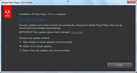 Adobe Flash Player 12 Full Offline Download Installers for Windows Mac   Computer   Scoop.it