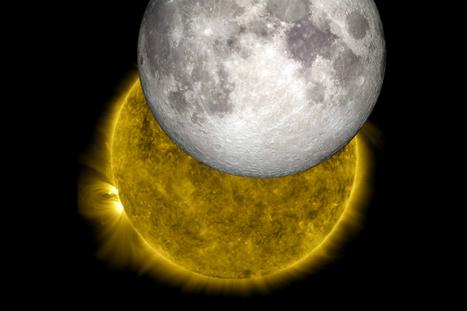 Pourquoi la lune semble-t-elle être aussi grosse que le soleil ? - DirectMatin.fr | Le soleil | Scoop.it