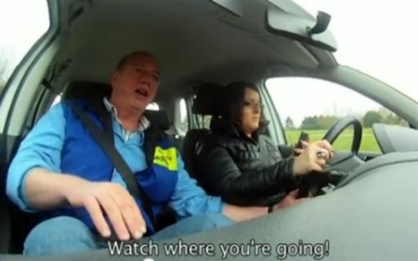 Here's What Happens When You Force Teens to Text and Drive [VIDEO]   Prozac Moments   Scoop.it