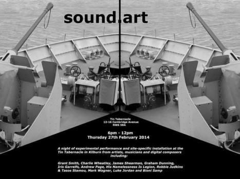 Maritime sound installation at the Tin Tabernacle, Kilburn (London) | DESARTSONNANTS - CRÉATION SONORE ET ENVIRONNEMENT - ENVIRONMENTAL SOUND ART - PAYSAGES ET ECOLOGIE SONORE | Scoop.it