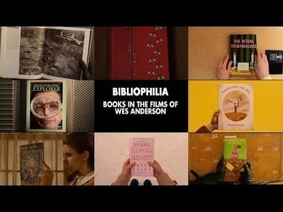 Dive into this video tribute to the books in Wes Anderson films - A.V. Club | Literature & Psychology | Scoop.it