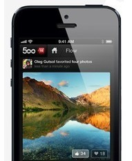 500px returns to the App Store | From the Apple Orchard | Scoop.it
