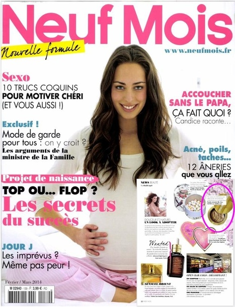 Neuf Mois Magazine - Fev 14 | Beauty Push, bureau de presse | Scoop.it
