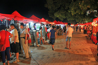 El mercado nocturno de Vientián - Laos   Vietnam   Scoop.it