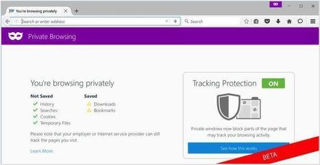 Firefox 42 bloque le pistage publicitaire sur le Web - Le Figaro | netnavig | Scoop.it