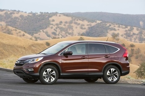 2015 Honda CR-V Earns Four-Star Safety Rating From NHTSA | Atlanta Trial Attorney  Road SafetyNews; | Scoop.it