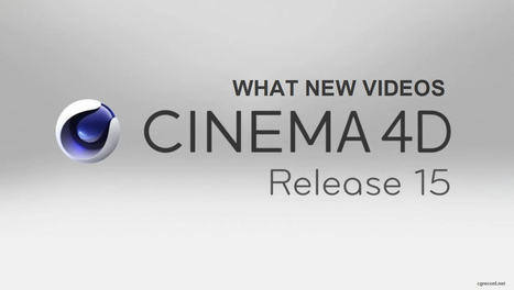 CINEMA 4D R15 Demo Version is now Available | CG Daily news | Cinema 4D Corner | Scoop.it