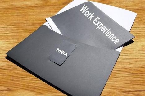 Work experience or MBA degree: Is one more valuable than the other? ~ MBAnetbook.co.in: MBA e-Notes & Projects   MBAnetbook.co.in   MBA Notes, Project Reports, MBA Articles   Scoop.it