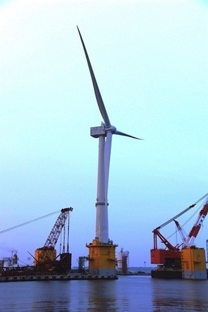 This Huge Wind Turbine Floating On Water Is Fukushima's Energy Solution | Fukushima | Scoop.it