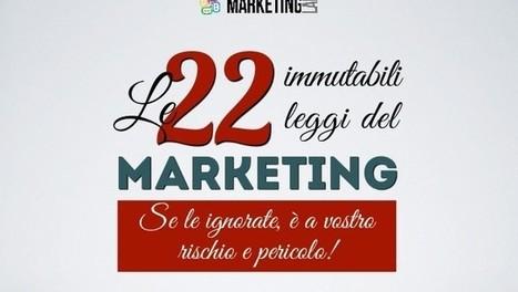 Le 22 Leggi immutabili del marketing | Blogging, creating, editing, presenting | Scoop.it
