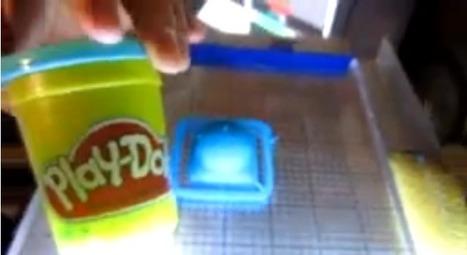Une nouvelle imprimante 3D qui travaille la pâte à modeler Play-doh - MonUnivers3D | FABLAB - FORMALAB | Scoop.it