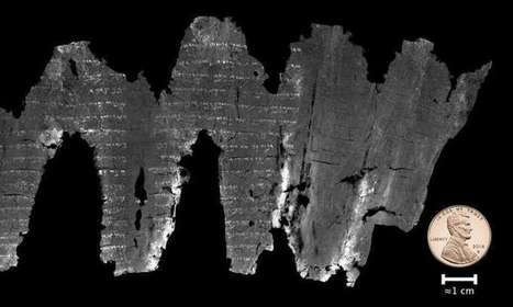 Digitally unwrapped scroll reveals earliest Old Testament scripture #Bible #EnGedi #archeology #history | Limitless learning Universe | Scoop.it