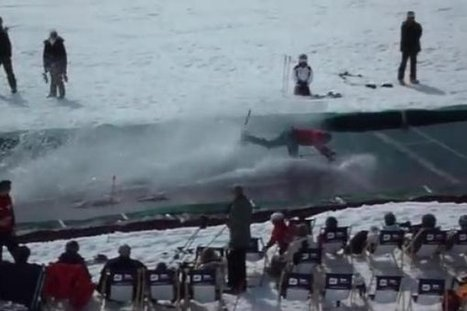 La chute qui fait du bien   Alpes   Scoop.it