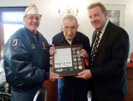 World War II Veteran gets surprise - Wayne Independent | Social Studies | Scoop.it