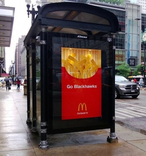 Hockey Mcdonald's | streetmarketing | Scoop.it