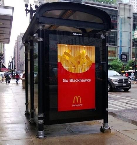 Hockey Mcdonald's | streetmarketing | Scoop.it