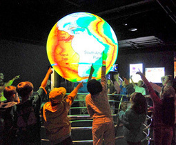 Learning Science the SOS Way: Science On a Sphere® Celebrates 10 years - NOAA | Geography maps | Scoop.it