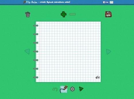 Flip Anim, una herramienta online para crear folioscopios virtuales | TIC aplicadas a la Educación | Scoop.it