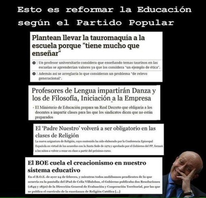 YoEstudiéenlaPública on Twitter | Partido Popular, una visión crítica | Scoop.it
