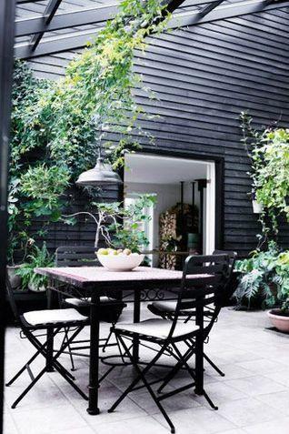 30 idées déco pour une terrasse scandinave en noir et blanc | décoration & déco | Scoop.it