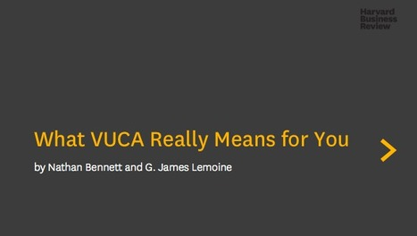 A Framework for Understanding VUCA | strategic learning | Scoop.it