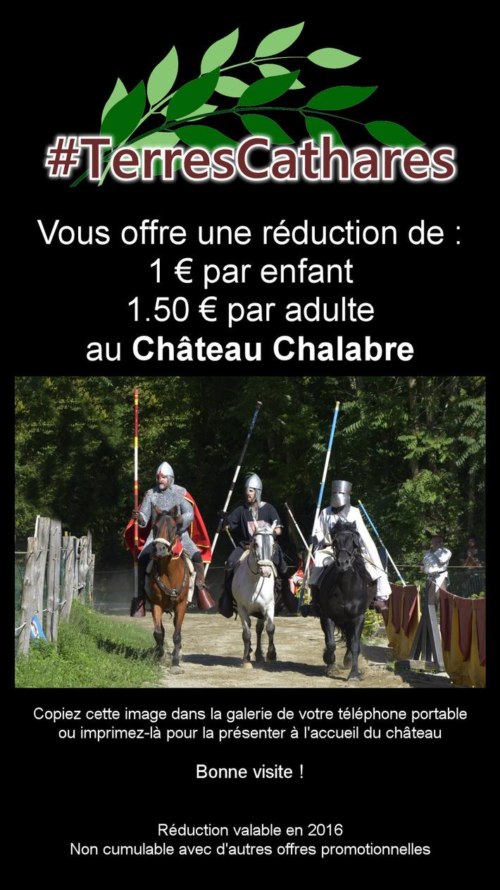 Idée week-end : le Parc Médiéval de Château Chalabre | #TerresCathares | Scoop.it
