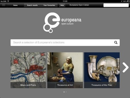 Europeana Releases First Free iPad App | europeana | The Information Professional | Scoop.it