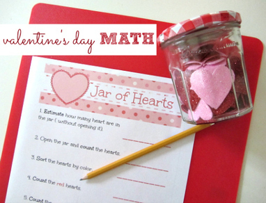 Valentine's Day Math Printable | Math Lesson Ideas | Scoop.it