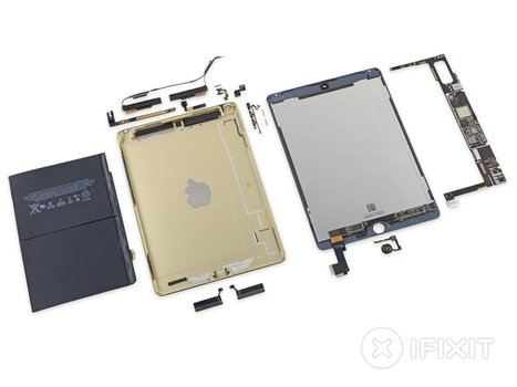 Desmontagem do iPad Air 2 revela bateria menor que a do seu antecessor | Apple iOS News | Scoop.it