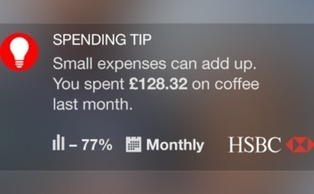 HSBC launches 'nudge theory' banking app to help customers manage finances | Untangling the Web | Scoop.it
