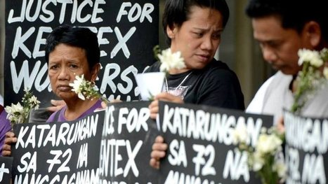 President Aquino: Ensure Criminal Prosecution of Owners of Kentex, Top gov't Officials Responsible for the Kentex factory fire! | Asian Labour Update | Scoop.it