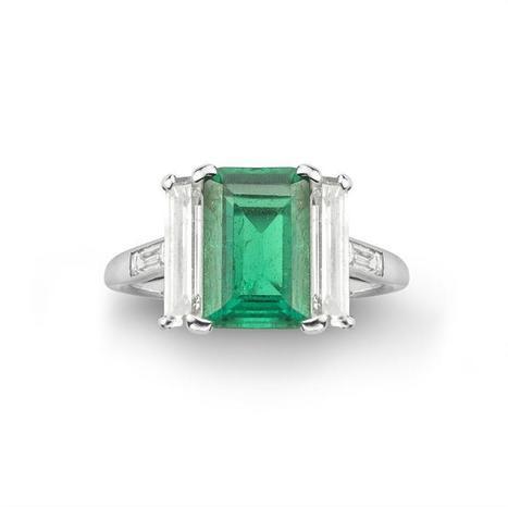 A Cartier art deco emerald and diamond ring - Bentley & Skinner | Bentley And Skinner | Scoop.it