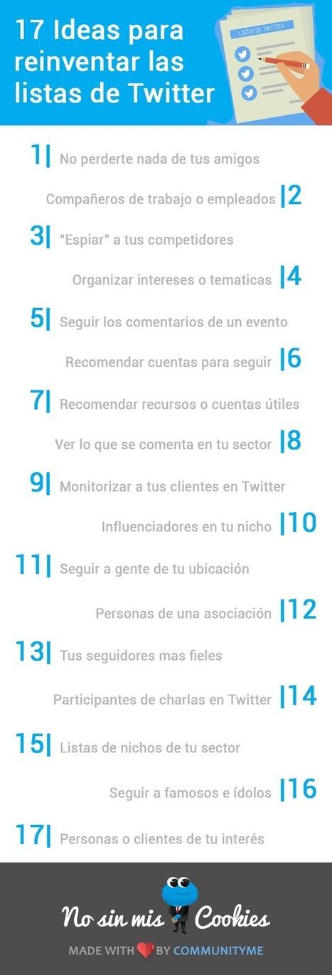 17 ideas para reinventar las listas de Twitter   MediosSociales   Scoop.it