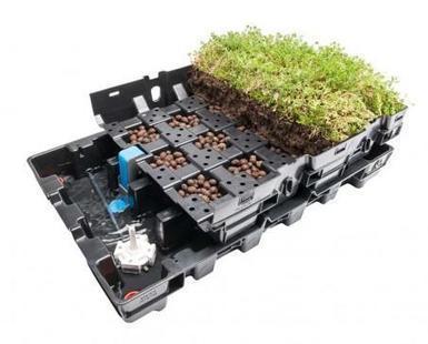 Deux systèmes de rétention pluviale pour une toiture végétalisée | D2DEXPERTHERMIQUE | Scoop.it