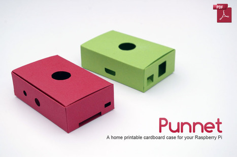 The Punnet – a card case for you to print (for free)   Raspberry Pi   Scoop.it