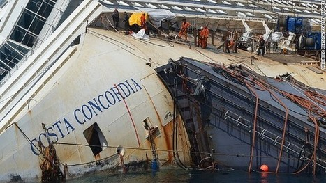 Costa Concordia: Will wrecked cruise ship stay in one piece during righting? | DiverSync | Scoop.it