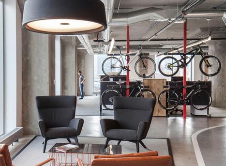 La empresa donde es casi obligatorio ir en bici | en bici verde | Scoop.it
