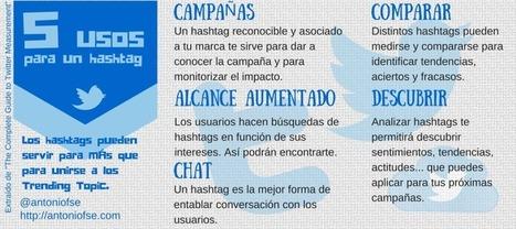 5 usos para un hashtag   Social Media   Scoop.it