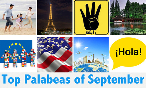Best Palabeas of September - blog.palabea.com | Palabea - The speaking World | Scoop.it