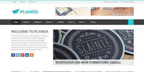 Planer Responsive WordPress Magazine Theme : Themeforest - Wpdil | wordpress news,themes & tutorial | Scoop.it