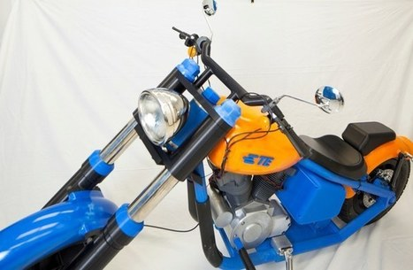 TE Connectivity 3D-prints a functioning motorcycle | Piques My Interest | Scoop.it