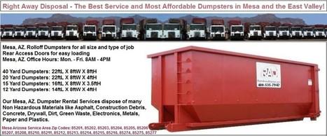 RAD Dumpster Rentals Have No Hidden Charges | Dumpster Rentals | Scoop.it