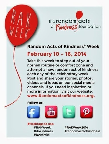 Mom-A-Logues: Random Acts of Kindness Week | Making a Difference | Scoop.it