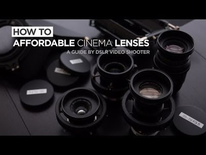 Cinema Lens Guide - How to Convert Your Lenses into Cinema Lenses | HDSLR | Scoop.it