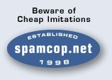 SpamCop.net - Beware of cheap imitations | ICT Security Tools | Scoop.it
